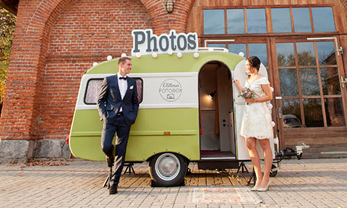 Fotobox Hochzeit I Events, Party Fotobox I Oldtimerfotobox